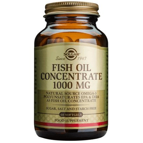 solgar fish oil concentrate omega 3 epa dha 60 x