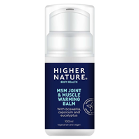 MSM - Joint and Muscle Warming Balm - 100ml