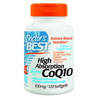 High Absorption CoQ10 - BioPerine -120 x 100mg Softgels
