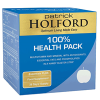 100% Health Pack by Patrick Holford