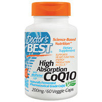 High Absorption CoQ10 - BioPerine - 60 x 200mg Vegicaps