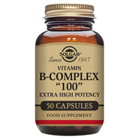 Solgar Vitamin B-Complex `100` High Potency-50 Vegicaps