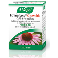 A Vogel Echinaforce Chewable Cold and Flu - 80 Tablets