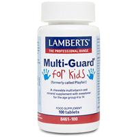 LAMBERTS Multi-Guard for Kids - 100 Tablets