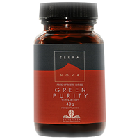 TERRANOVA Green Purity Super-Blend - 40g - Best before date is end of May 2015
