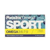 Paradox Sport - Chewable Omega 3-6-7-9 -30 x 990mg Caps