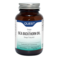 Sea Buckthorn Oil - Omega 7 Fatty Acid - 120 Capsules