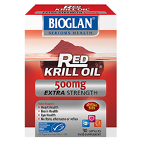 Bioglan Red Krill Oil - Extra Strength - 30 Capsules