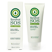 Barefoot SOS - Face and Body Rescue Cream - 100ml