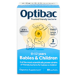 OptiBac Probiotics - Babies and Children - 30 Sachets