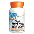Best Red Yeast Rice 1200 with CoQ10 - 180 Tablets