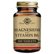 Solgar Magnesium with Vitamin B-6 - 100 Tablets