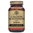 Solgar Calcium Magnesium plus Boron - 100 Tablets