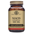 Solgar Niacin - Vitamin B3 - 100 x 500mg Vegicaps