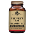 Solgar Brewer`s Yeast - With Vitamin B12 - 250 Tablets