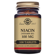 Solgar Niacin - Vitamin B3 - 100 x 100mg Tablets