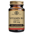 Solgar Vitamin B1 (Thiamin) - 100 x 100mg Vegicaps