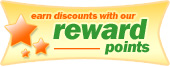 Earn discounts with our Reward Points
