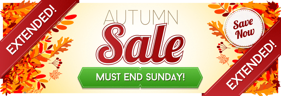 Autumn Sale - All Categories - Extended