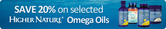 Higher Nature - Omegas - Brand