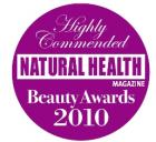 Highly Commended Natural Health and Beauty Awards 2010