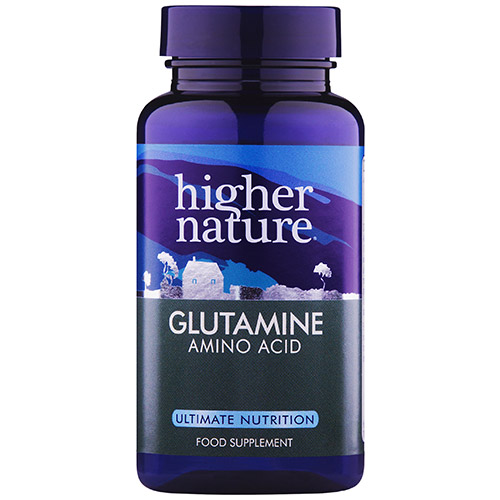 higher nature glutamine amino acid 90 vegicaps uk