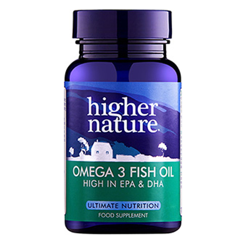 Higher nature omega 3 fish oil epa and dha 90 x 1000mg for Epa dha fish oil