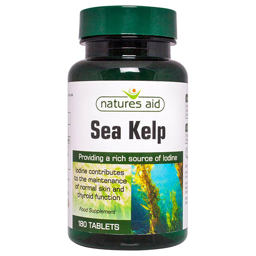 What are sea kelp tablets good for