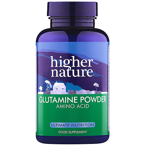 higher nature glutamine amino acid 200g powder uk