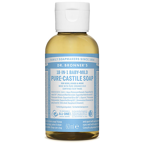 Dr Bronner S 18 In 1 Organic Baby Mild Unscented Pure