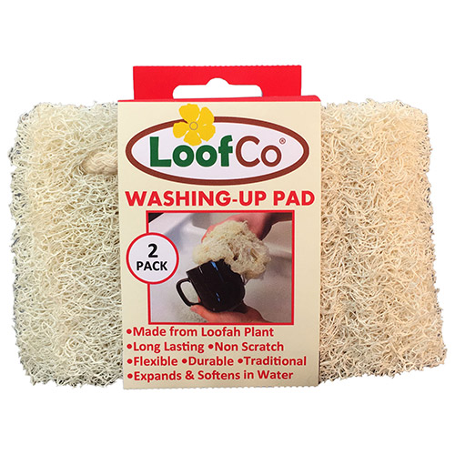 Loofco Washing Up Pad 2 Pack Bodykind