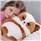 Aroma Home Sparkly Eyes Snuggle Cushion - Dog