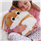 Aroma Home Sparkly Eyes Soft Cuddle Cushion