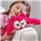 Aroma Home Pillow Friendz Standing - Pink Owl