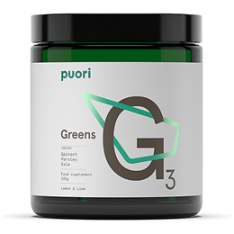 Puori G3 Food Supplement - Lemon & Lime - 225g