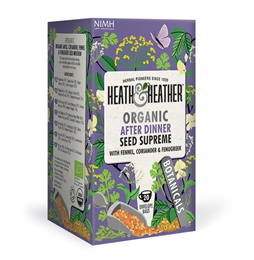 Heath & Heather Organic Super Seeds - 20 Bags