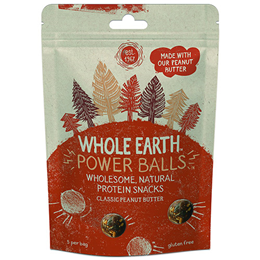 Whole Earth Protein Power Balls - Classic Peanut -50g