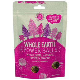 Whole Earth Protein Power Balls - Goji & Red Berries - 50g
