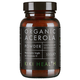 KIKI Health Organic Acerola Powder - 100g - Best before date is 28th February 2018