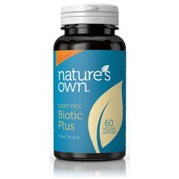 Natures Own Biotic Plus - 60 Vegicaps