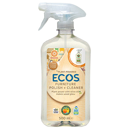 ECOS Furniture Polish + Cleaner - 500ml