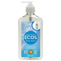 Earth Friendly Products Hand Soap - Fragrance Free - 500ml