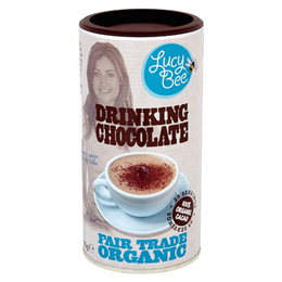 Lucy Bee Organic Drinking Chocolate - 250g