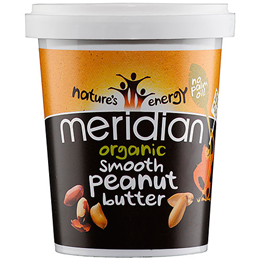 Meridian Organic Smooth Peanut Butter - 454g - Best before date is 30th November 2019