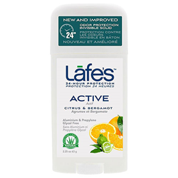 Lafe`s Twist Stick Active Deodorant with Citrus and Bergamot - 63g