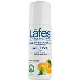 Lafe`s Roll On Active Deodorant with Citrus and Bergamot - 88ml