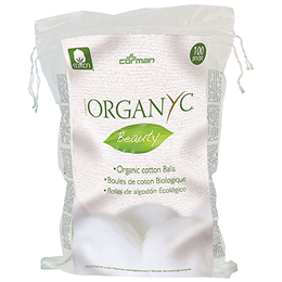 Organyc Cotton Balls (Biodegradable) - 100 Pieces