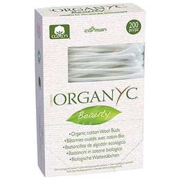 Organyc Beauty Cotton Buds (Biodegradable) - 200 Pieces