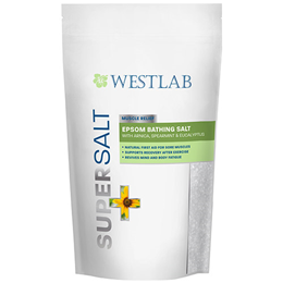 Westlab Supersalt - Muscle Relief - Epsom Bathing Salt - 1kg
