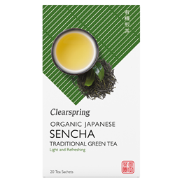 Clearspring Organic Sencha Green Tea - 20 Teabags